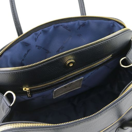 KEYLUCK SOFT HANDBAG BLACK - 2
