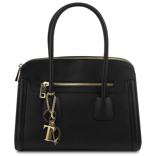 KEYLUCK SOFT HANDBAG BLACK